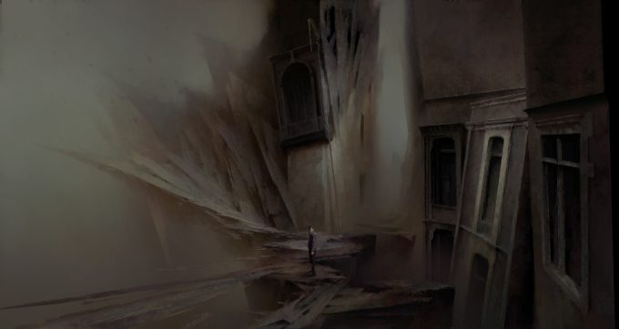 Dishonored Death of the Outsider concept art piotr jablonski impression of the void n 2 s