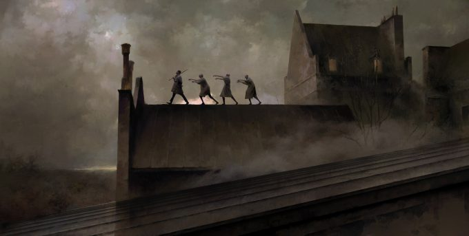 Dishonored Death of the Outsider concept art piotr jablonski the dawn patrol s