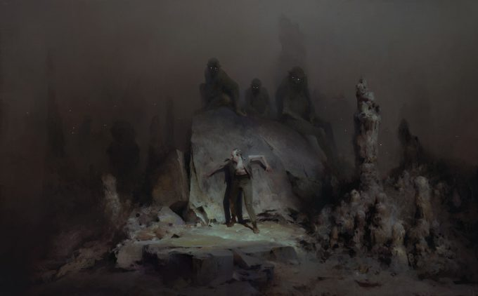 Dishonored Death of the Outsider concept art piotr jablonski the gray ones gather s