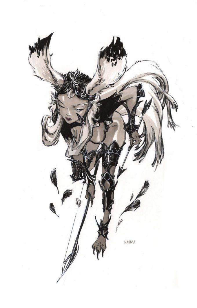 Final Fantasy Fan Art Naomi Baker