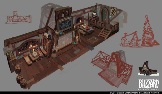 Hearthstone Animated Short Hearth and Home Concept Art Vasili Zorin 01