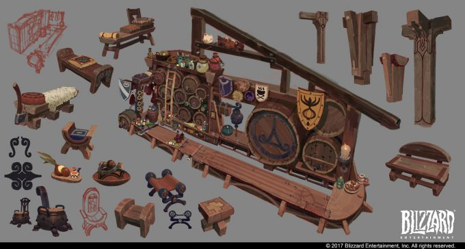 Hearthstone Animated Short Hearth and Home Concept Art Vasili Zorin 02