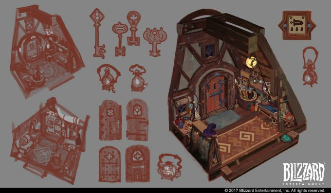 Hearthstone Animated Short Hearth and Home Concept Art Vasili Zorin 04