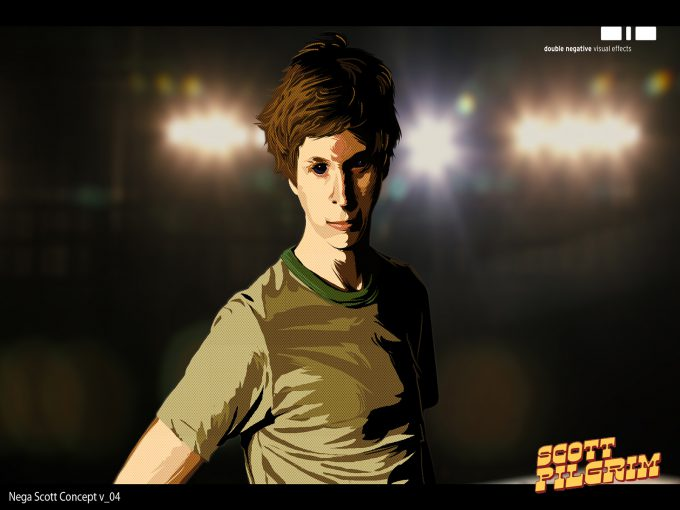 Scott Pilgrim vs the World Concept Art Philippe Gaulier Nega Scott 04