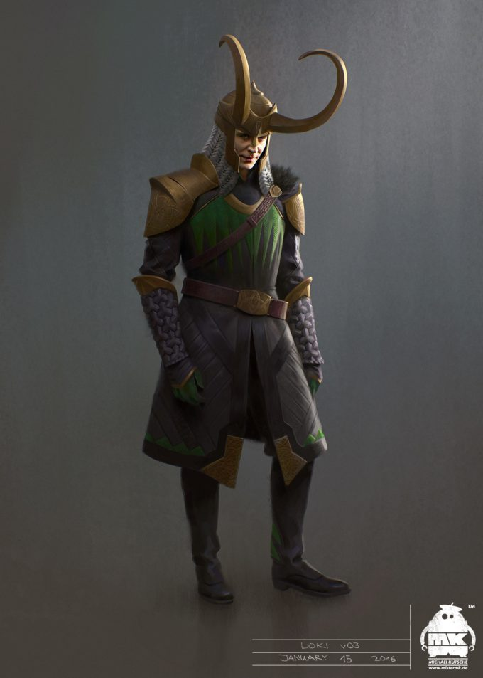 Thor Ragnarok Concept Art Michael Kutsche Loki 01