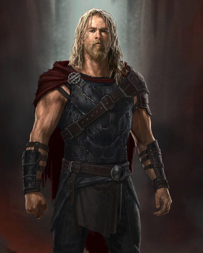 Thor Ragnarok Gladiator Thor Concept Art Andy Park 01