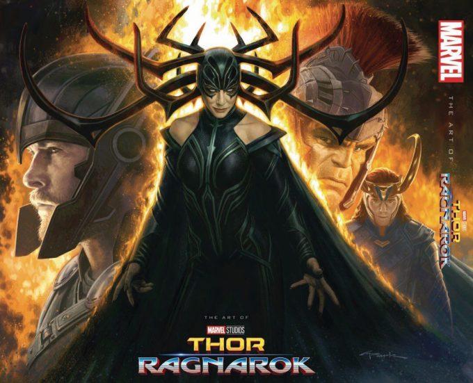Thor Ragnarok Gladiator Thor Concept Art Andy Park Art Book Cover Front