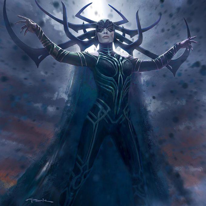 Thor Ragnarok Gladiator Thor Concept Art Andy Park Hela