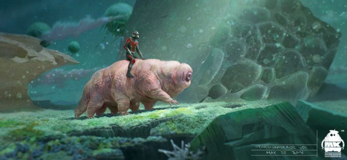 ant man and the wasp concept art michael kutsche tardigrade ride
