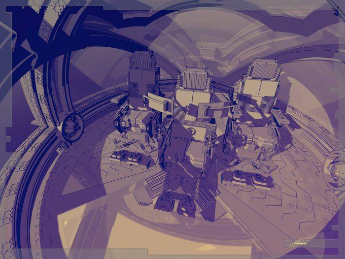 Thor Ragnarok Gladiator Thor Concept Art Sean Hargreaves Falcon Spaceship 06