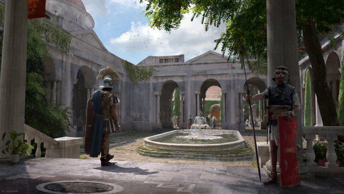 Ahmed El Johani Concept Art Illustration Praetorian Guard