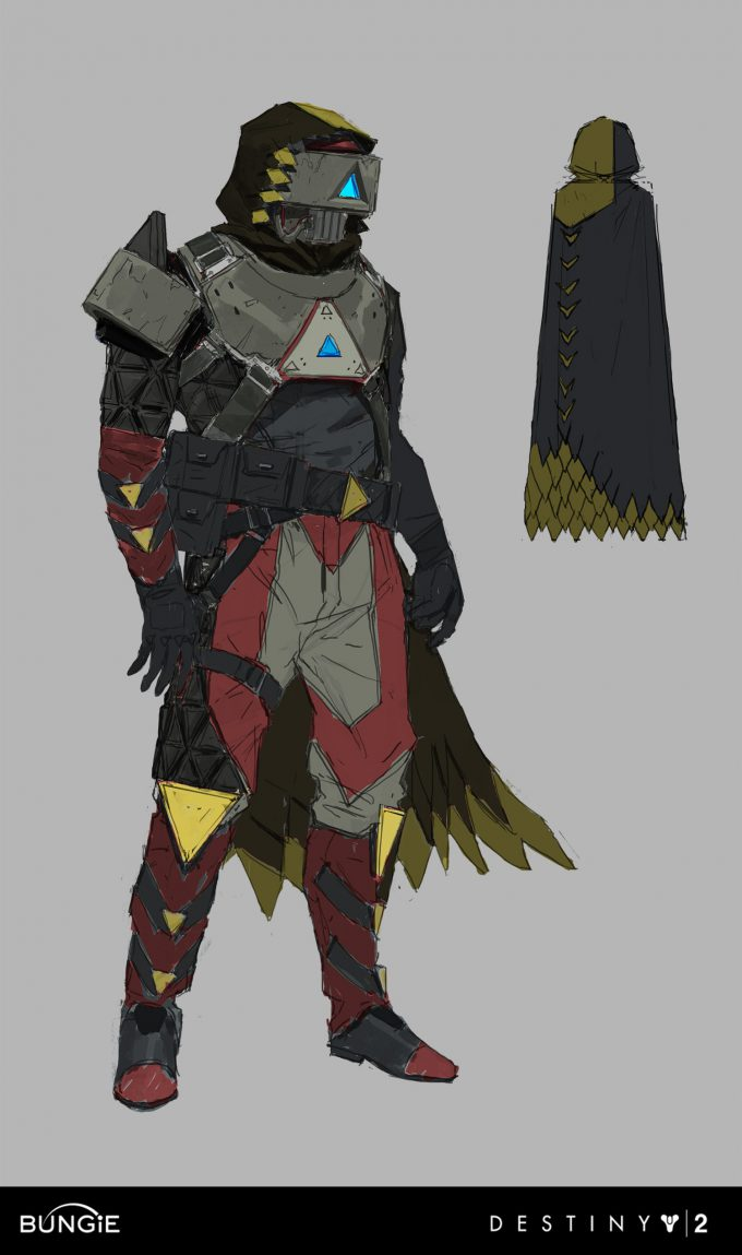 Destiny 2 Curse of Osiris Concept Art Ryan Gitter infinite forest hunter