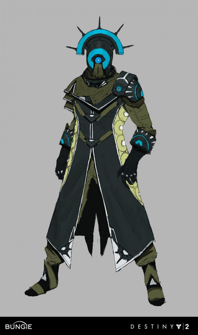 Destiny 2 Curse of Osiris Concept Art Ryan Gitter infinite forest warlock