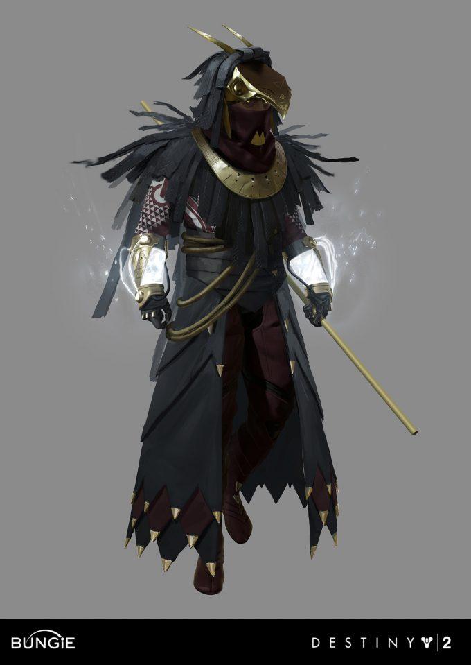 Osiris Character Design