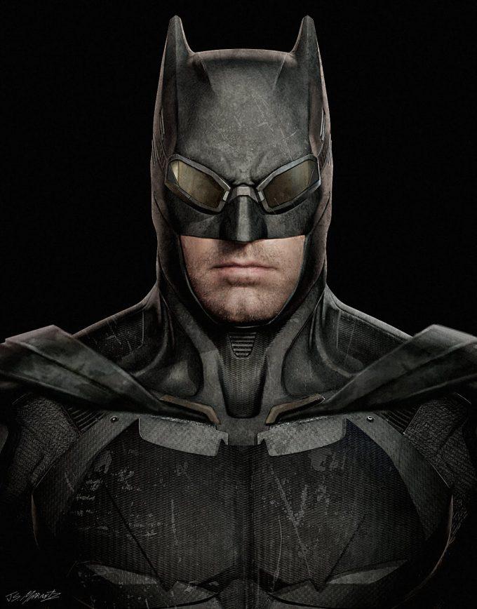 Justice League Concept Art Jerad Marantz Batman 01 Tech 01