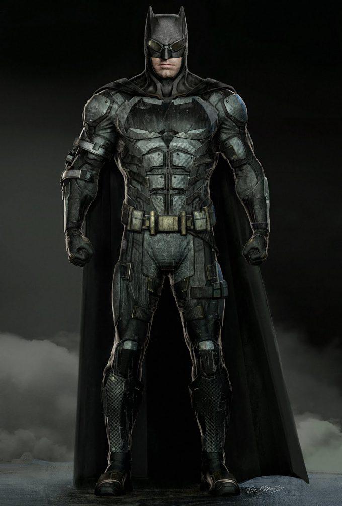 Justice League Concept Art Jerad Marantz Batman 02