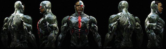 Justice League Concept Art Jerad Marantz Cyborg Ortho wip 2