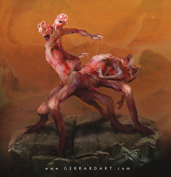 Masters of the Universe Art Paul Gerrard Modulok