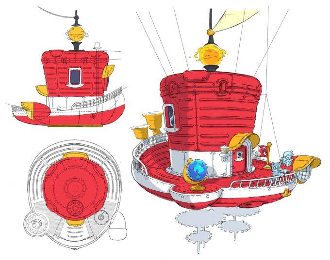 Nintendo Super Mario Odyssey Concept Art 02