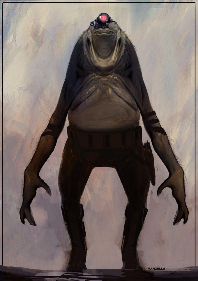 Star Wars Rogue One Concept Art Ivan Manzella 13