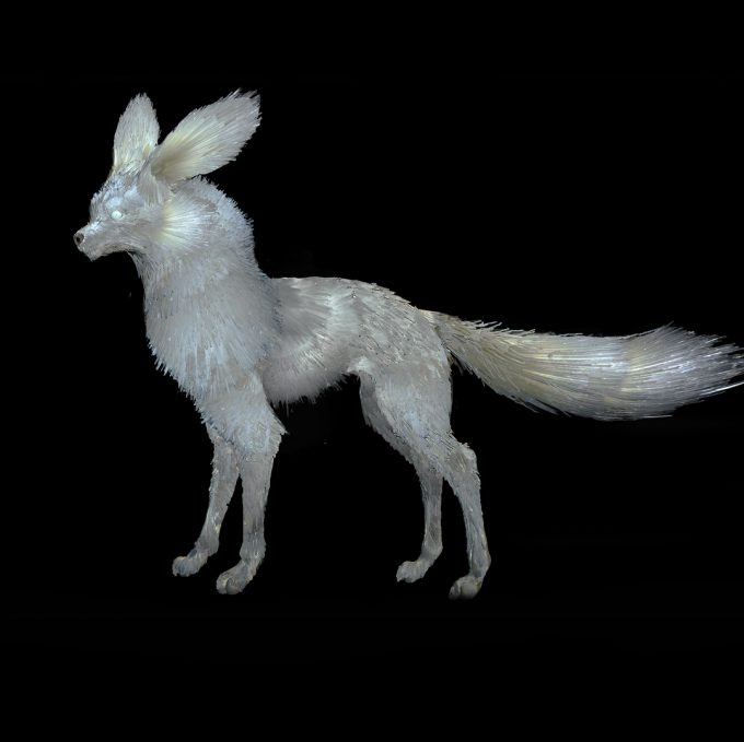 Star Wars The Last Jedi concept art justin sweet crystal foxes 01