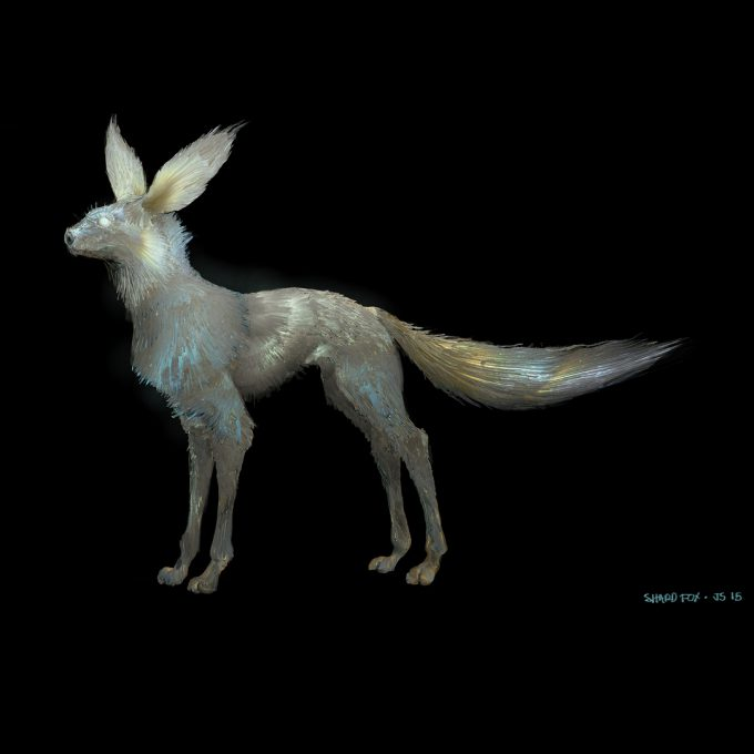 Star Wars The Last Jedi concept art justin sweet crystal foxes 02