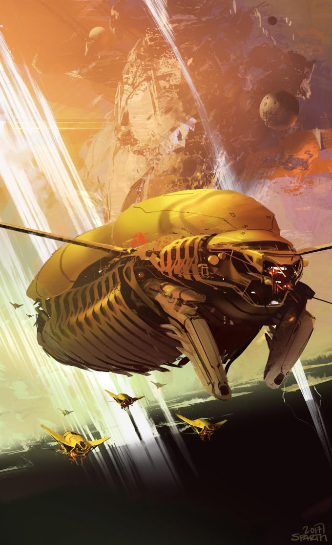 Starfire: Shadow Sun Seven Cover Art