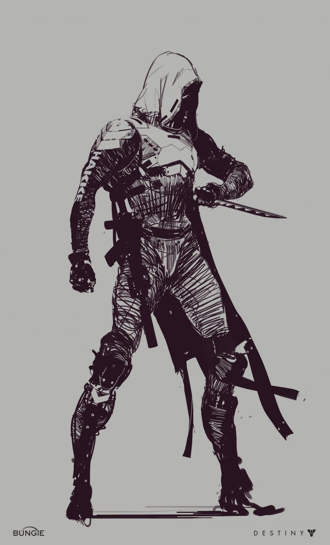 destiny 2 bungie concept art Ryan DeMita 19 Hunter