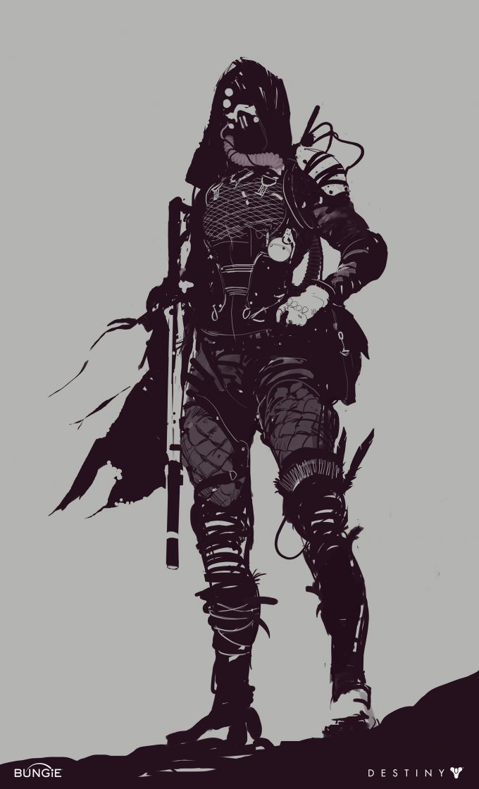 destiny 2 bungie concept art Ryan DeMita 23 Hunter
