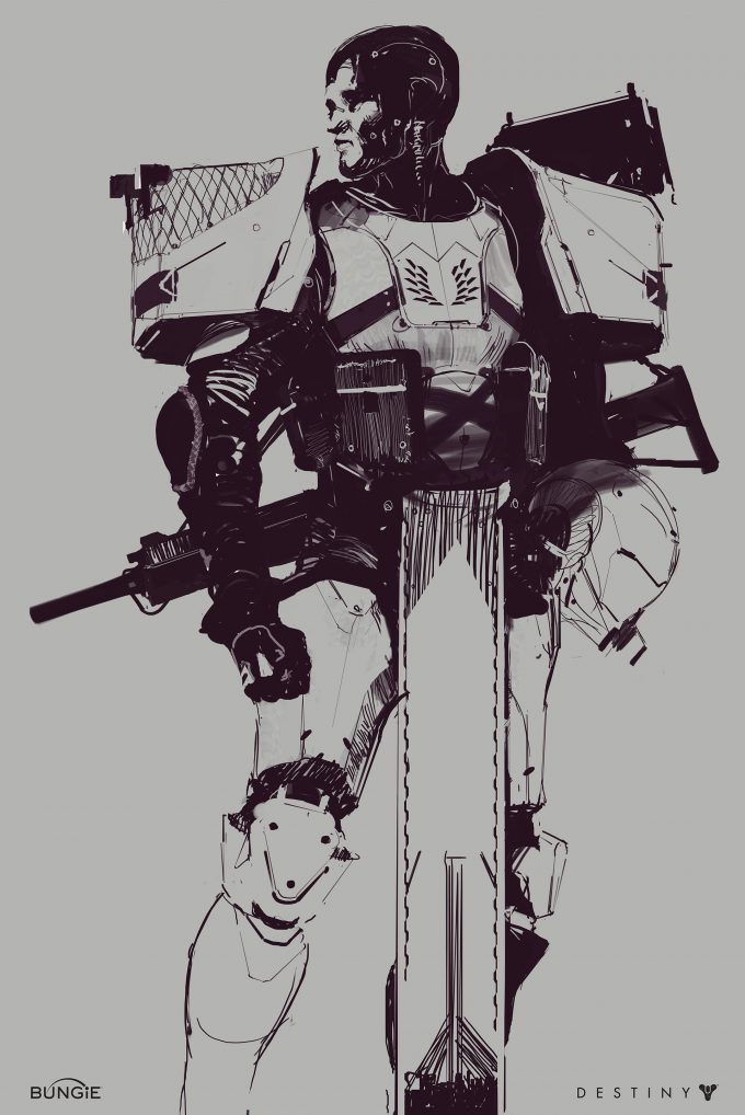 destiny 2 bungie concept art Ryan DeMita 40 Titan
