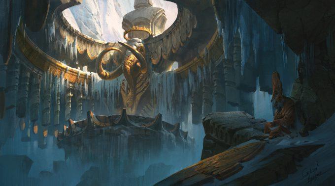 gabriel yeganyan concept art glacial temple demo