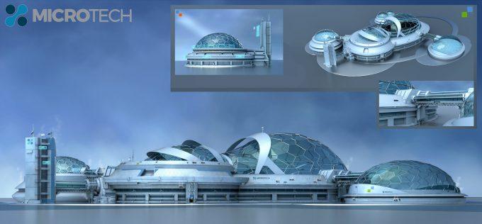 ken fairclough concept art microtech domestructure concepts