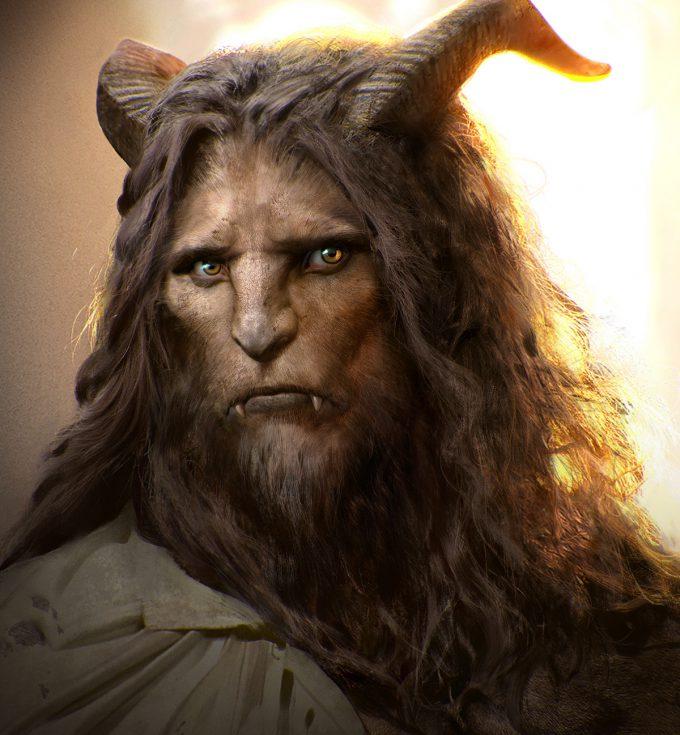 Beauty and the Beast Concept Art Disney Jama Jurabaev batb beast face v001