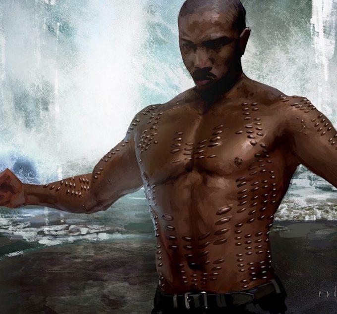 Black Panther Concept Art Rodney Fuentebella Erik Killmonger 04