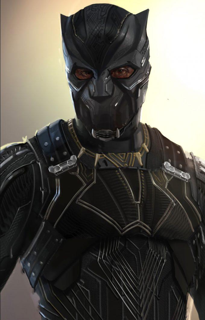 Black Panther Concept Art Rodney Fuentebella TChaka 2