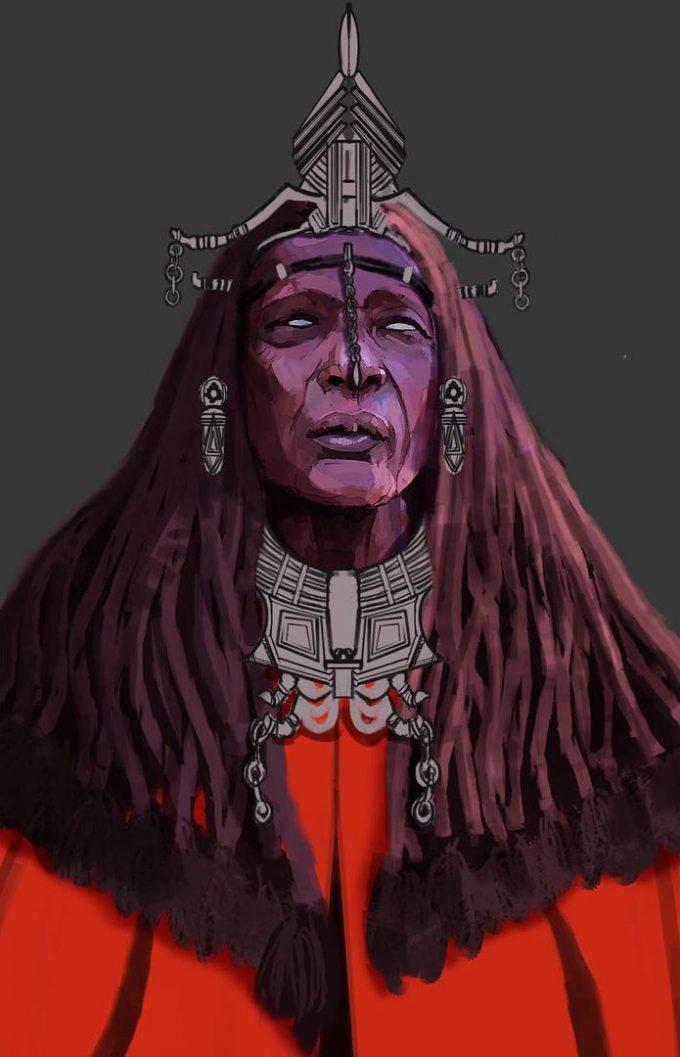 Black Panther Costume Concept Art Phillip Boutte Jr 02 Warrior Fall Elder