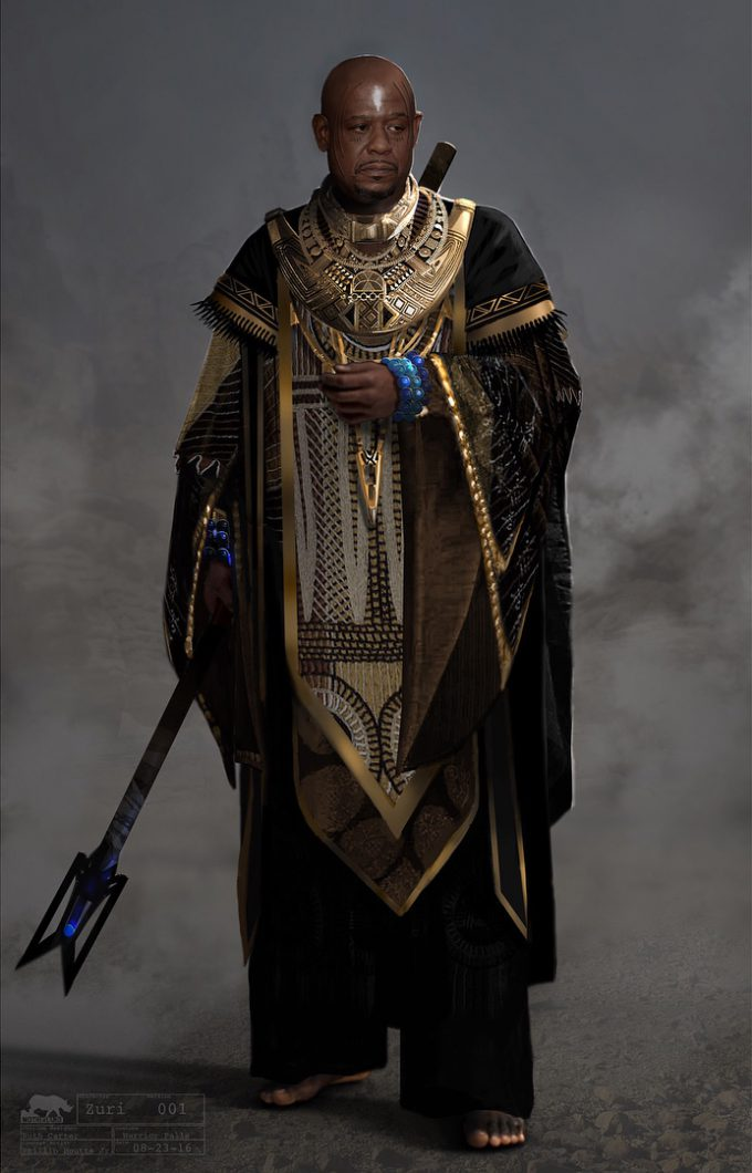 Black Panther Costume Concept Art Phillip Boutte Jr 06 Zuri
