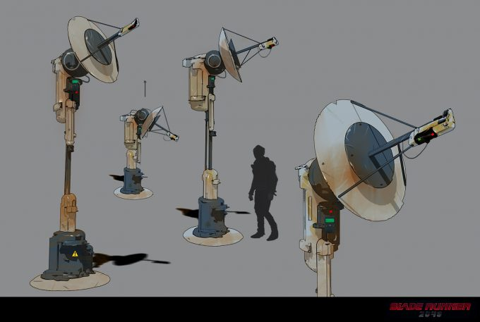 Blade Runner 2049 Concept Art Dan Baker antenna1