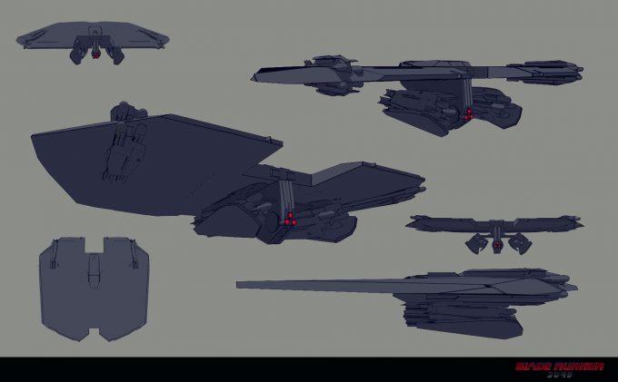 Blade Runner 2049 Concept Art Dan Baker barracuda variant1