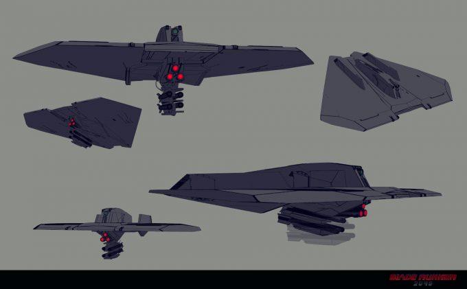 Blade Runner 2049 Concept Art Dan Baker barracuda variant2