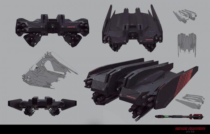 Blade Runner 2049 Concept Art Dan Baker barracuda1