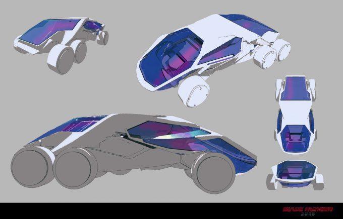 Blade Runner 2049 Concept Art Dan Baker cruiser2