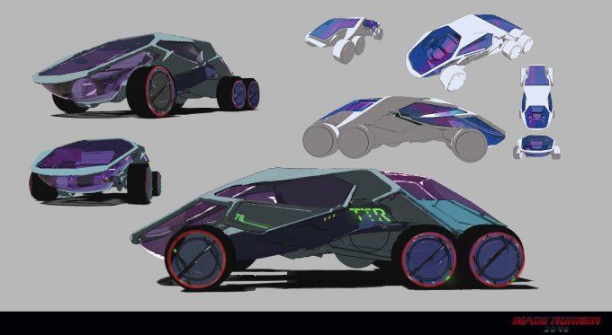 Blade Runner 2049 Concept Art Dan Baker cruiser3