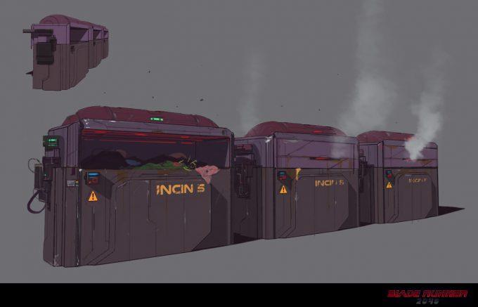 Blade Runner 2049 Concept Art Dan Baker incin bin1
