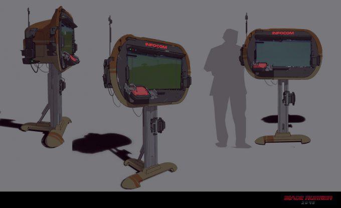 Blade Runner 2049 Concept Art Dan Baker infoscreen