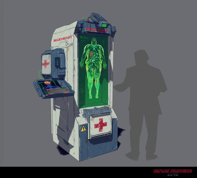 Blade Runner 2049 Concept Art Dan Baker medichecker1