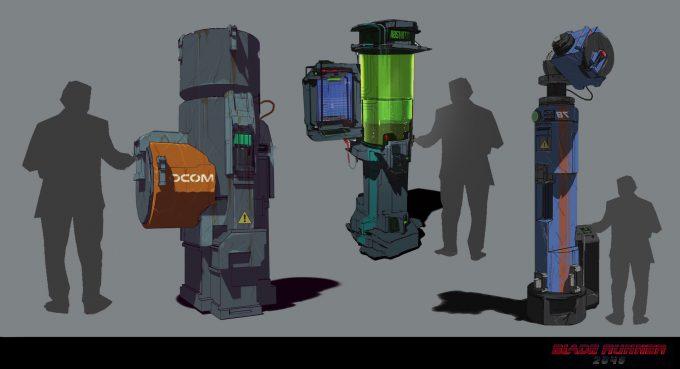Blade Runner 2049 Concept Art Dan Baker streetstuff