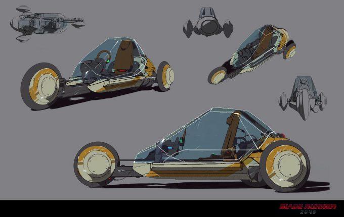 Blade Runner 2049 Concept Art Dan Baker trike1