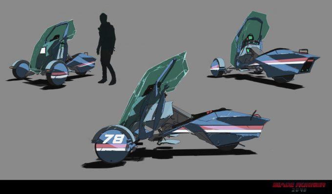Blade Runner 2049 Concept Art Dan Baker trikeblue3