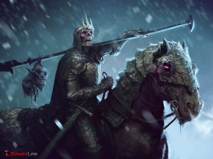 Dane Madgwick Concept Art necromancer hero dread
